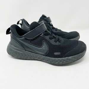 Nike Revolution 5 GS Running Shoes Black Sneakers